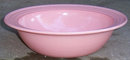 Vintage Pink Moderntone Platonite Glass Serving Bowl