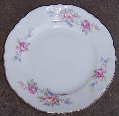 Homer Laughlin Virginia Rose Pink Rose Small Plate
