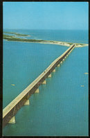 Postcard of Bahia Honda Bridge Overseas Highway Florida