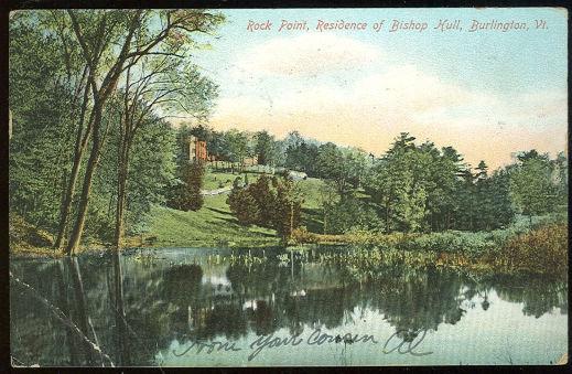 Rock Point Bishop Hull Residence Burlington, VT 1906