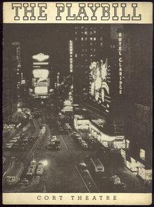 Playbill George Abbott Presents Room Service February 1938