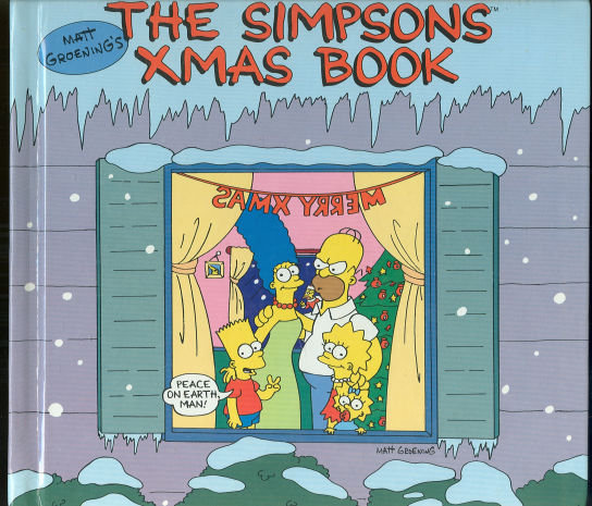 Simpson's Xmas Book by Matt Groening 1990 1st edition