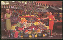 Postcard of Farmer's Market, Los Angeles, California