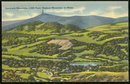 Postcard of Greylock Mountain 3,505 Feet Highest Mountain in Massachusetts