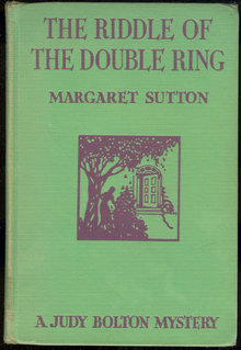 Riddle of the Double Ring Judy Bolton # 10 1st ed