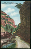 Postcard of Cave of the Winds, Williams Canon, Colorado