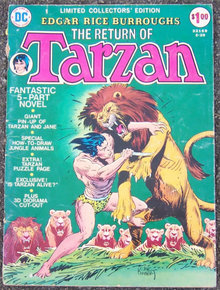 Return of Tarzan Limited Collectors Edition C-29 1974