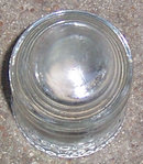 Vintage Small Clear Glass Hemingray 9 Insulator