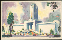 Sears Roebuck Building Century of Progress Postcard