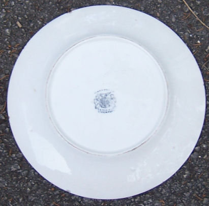 Vintage Liverpool Pottery Small Plate with Turkeys