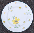 Royal Albert Bone Chine Plate Bright Yellow Flowers