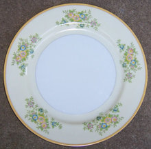 Made in Japan Dinner Plate with Yellow Flowers