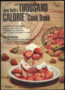 June Roth's Thousand Calorie Cook Book 1967 Diet Book