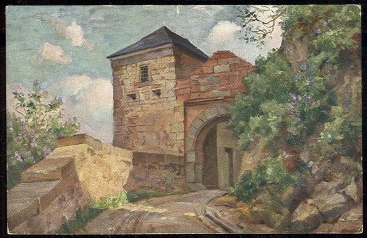 Postcard of Schloss Waldeck, Elwert, Marburg-Wldungen