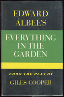 Everything in the Garden by Edward Albee 1965 1st ed DJ