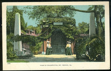 Postcard of Tomb of Washington, Mt. Vernon, Virginia