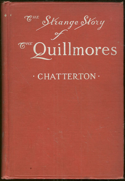 Strange Story of the Quillmores by A. L. Chatterton 1st