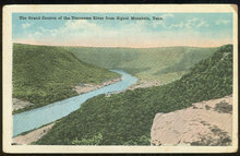 Postcard of Grand Canyon of Tennessee River Signal Mt, Tennessee