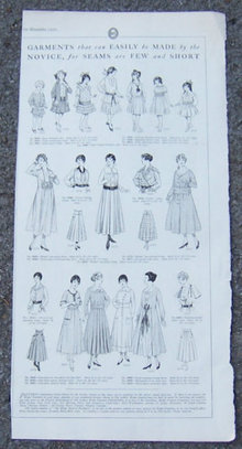 Garments That are Easily Made for Women 1916 LHJ Page