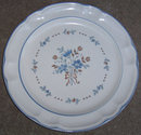 Cordella Collection Hand Decorated Stoneware Plate