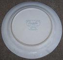 Cordella Collection Hand Decorated Stoneware Plate