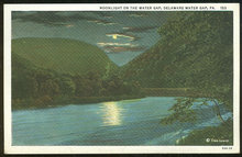 Postcard of Moonlight Delaware Water Gap, Pennsylvania