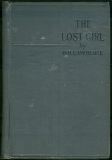 Lost Girl by D. H. Lawrence 1922 Novel