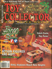 Toy Collector Magazine and Price Guide December 1995
