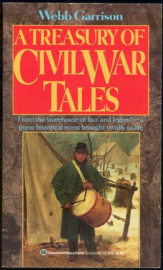 Treasury of Civil War Tales by Webb Garrison