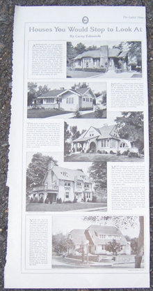 Houses You Would Stop to Look At 1916 LHJ Page