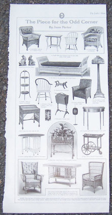 Furniture For the Odd Corner 1916 LHJ Page
