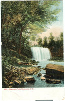 Postcard of Edwards Falls, Syracuse, New York