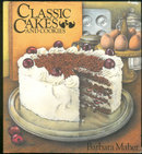 Classic Cakes and Cookies by Barbara Maher 1986 with DJ