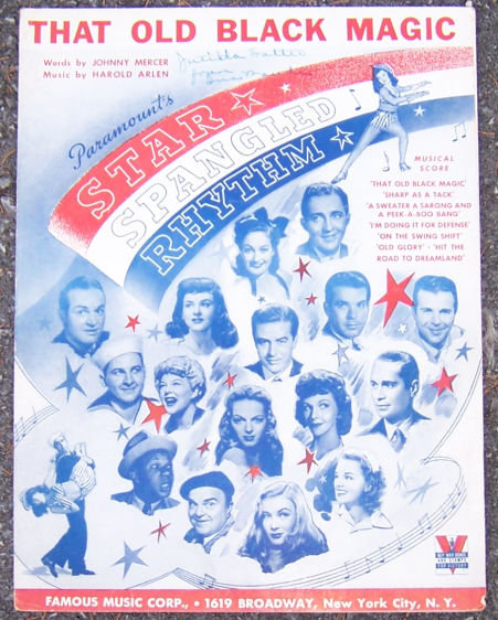 That Old Black Magic From Star Spangled Rhythm 1942