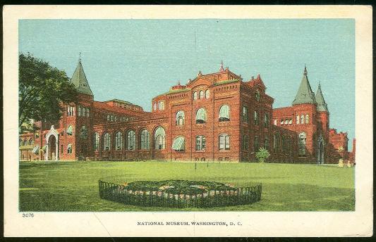 Postcard of National Museum, Washington D. C.