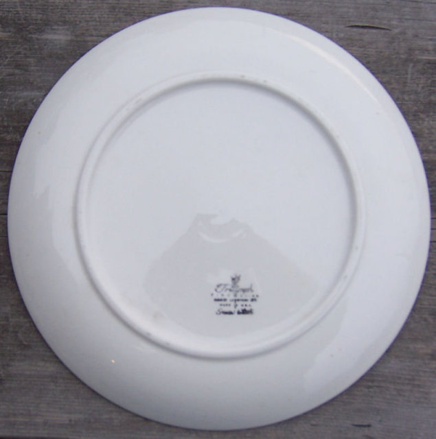 Vintage Homer Laughlin Triumph Ferndale Dinner Plate