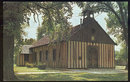 Postcard of Old Holy Family Church Cahakia, Illinois
