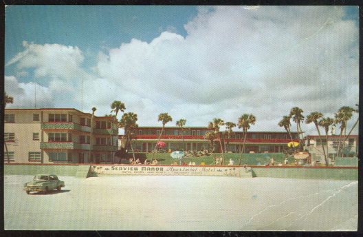 Postcard of Seaview Manor, Daytona Beach, Florida