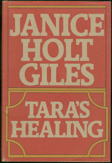 Tara's Healing by Janice Holt Giles 1951 with DJ