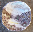 Johnson Bros Olde English Countryside Square Bowl