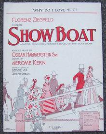 Why Do I Love You From Show Boat 1927 Sheet Music