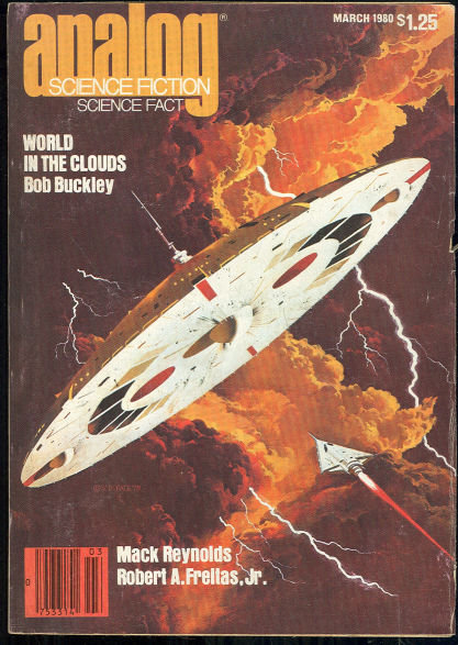 Analog, Science Fiction, Science Fact Magazine March 1980