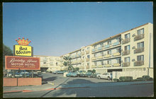 Postcard of Best Western Berkeley House, California