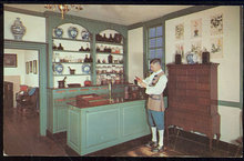 Postcard of Pasteur-Galt Apothecary Shop, Williamsburg
