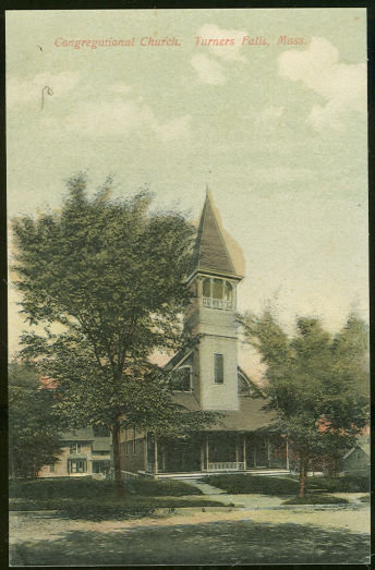 Congregational Church, Turners Falls, Massachusetts