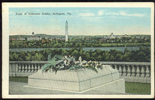 Postcard of Tomb of Unknown Soldier Arlington, Virginia