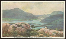 Prudential Ins. Postcard of Lakes of Killarney, Ireland
