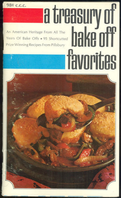 Pillsbury's Treasury of Bake Off Favorites 1969 Recipes