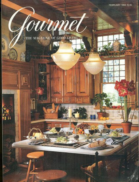 Gourmet Magazine February 1994 Chicken Dinners