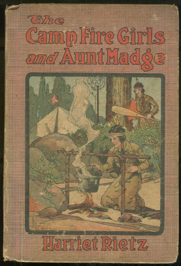 Camp Fire Girls and Aunt Madge by Helen Hart #1 Series